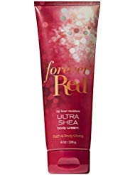 Bath and Body Works FOREVER RED Ultra Shea Body Cream 8 Ounce 2018 Limited Edition
