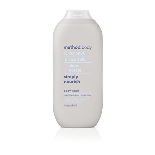 Method Body Wash, Simply Nourish, 18 Ounce