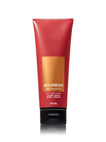 Bath & Body Works Bourbon Men's Ultra Shea Body Cream 8 oz