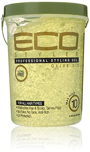 ECOCO Eco Style Gel, Olive Oil, 80 Ounce