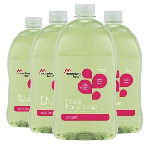 Mountain Falls Cucumber Melon Liquid Hand Soap, 56 Fluid Ounce Pack of 4