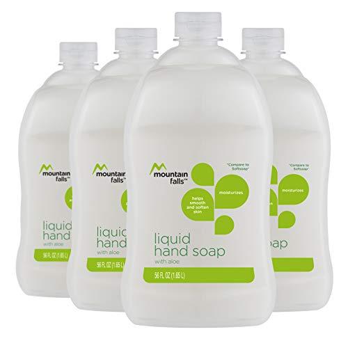 Mountain Falls Aloe Liquid Hand Soap, 56 Fluid Ounce Pack of 4