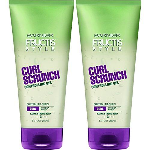 Garnier Hair Care Fructis Style Curl Scrunch Controlling Gel, 2 Count