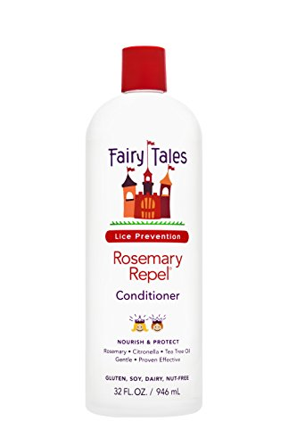 Fairy Tales Rosemary Repel Daily Kid Conditioner for Lice Prevention – 32 oz
