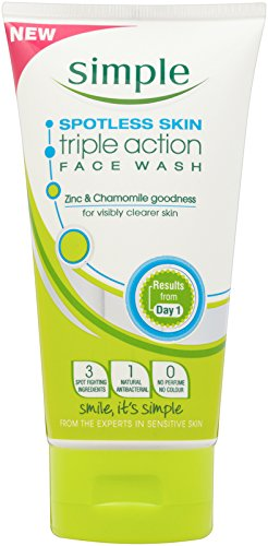 Simple Spotless Skin Triple Action Face Wash 150ml