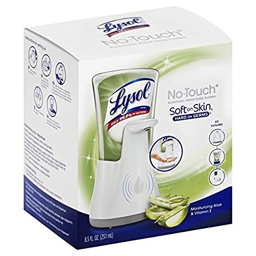 Lysol No Touch Hand Soap Refill 8 5 Fl Oz Soft On Skin