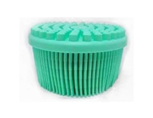 1pack Blue Bath Amp Shower Loofah Brush 2 In 1 Face Amp Body