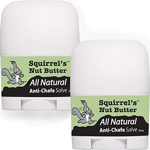 Squirrel's Nut Butter All Natural Anti Chafe, Extreme Bundle Pack .7oz 2 Pack