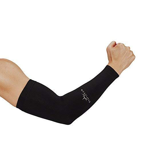 Sunitra Arm Sleeve with UV Protection Cooling in Summer Arm Warmers in Winter Arm Sleeves for Men & Women Kids of All Ages,Arm Bike Under The Sun, Cycling Sleeves for Bikers Comfortable Sports Sleeve