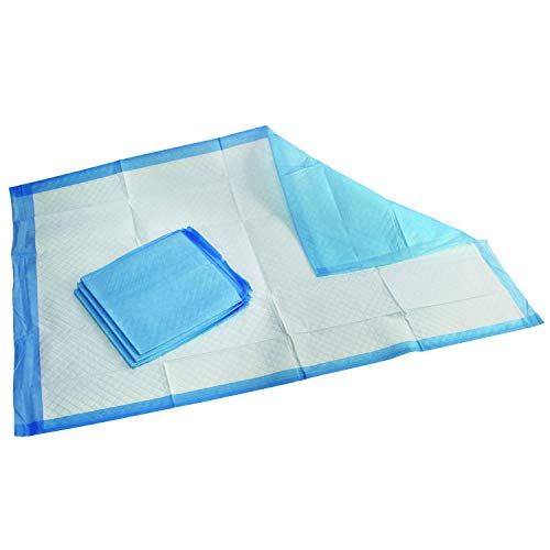 """Medpride Disposable Underpads 23"""" X 36"""" 50-Count Incontinence Pads, Bed Covers, Puppy Training 