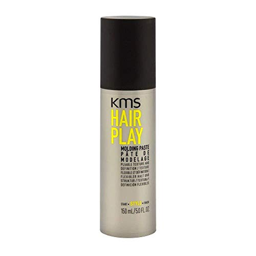 KMS HAIRPLAY Molding Paste Provides Texture, Natural Shine, Pliable Hold & Definition Unisex, 3.4 oz