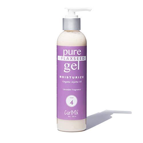 Pure Homemade Flaxseed Gel Lavender Fragrance & Organic Jojoba Oil