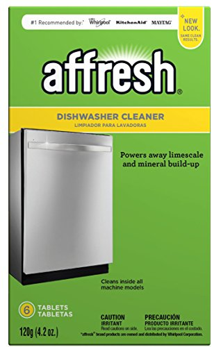 Affresh W10549851 Dishwasher Cleaner 6 Tablets in Carton Original Version, pack of 1