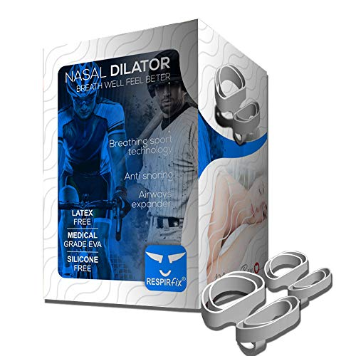 MIGOU BCN Sport Nasal Dilator – Bpa and Latex Free & Enhanced Sports Performance Patented Nasal Breathing Aids EVA Material Nose Vents Soft Adjustable 2 Units L+M