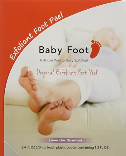 Baby Foot Original Deep Exfoliation for Feet Peel2 count Pack of 2