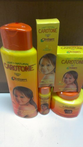 Carotone Complete Package-lotion-cream-soap-tube-oil
