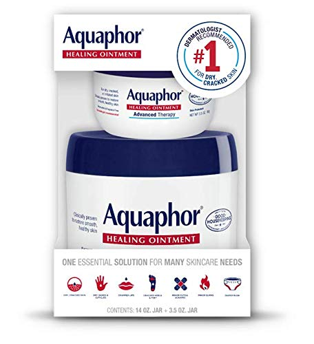 Aquaphor Advanced Therapy Healing Ointment 14 Ounce + 3.5 Ounce