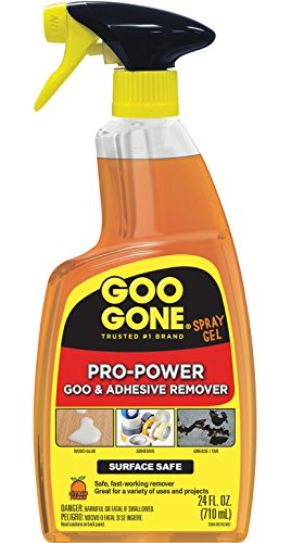24 Ounce – Goo Gone Pro-Power Spray Gel – Surface Safe, Great Cleaner, No Harsh Odors, Removes Stickers, Can Be Used On Tools