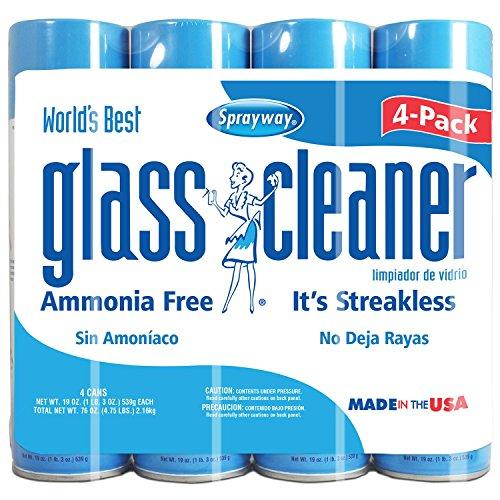 Sprayway Glass Cleaner 19oz, 4pk.