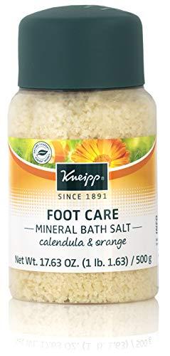Kneipp Healthy Feet Mineral Foot Bath Salts, Calendula & Orange, Foot Care Soak Full Size