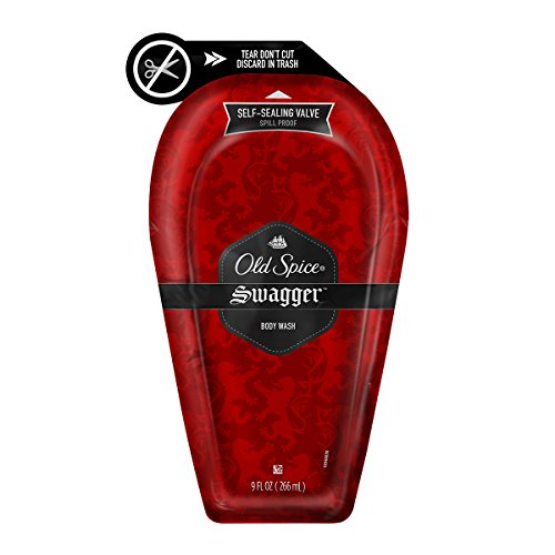 Old Spice Red Zone Swagger Scent E-Z Squeeze Body Wash for Men 9 oz
