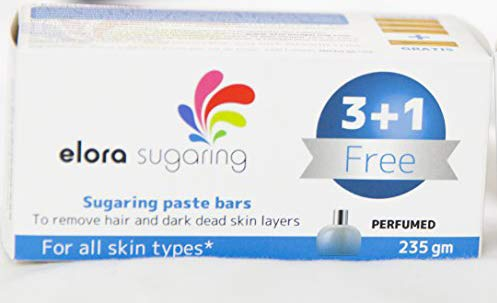 Free bar included in your pack! – Elora sugaring paste hair removal for normal skin 8.2 ounces/235 gm