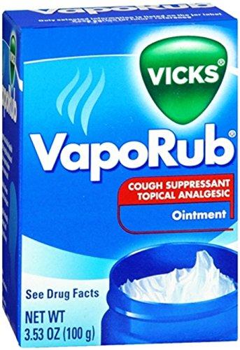 Vick's VapoRub Ointment 3.53 Oz Per Jar 2 Jars