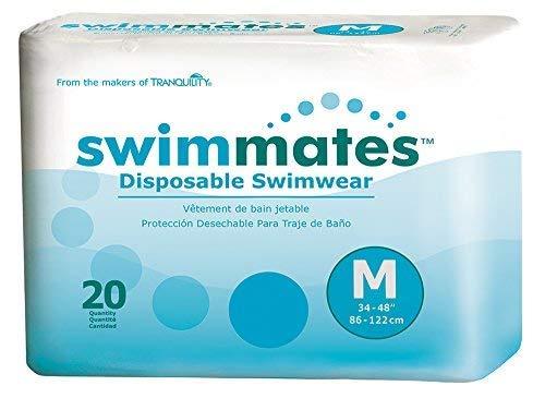 Swimmates Disposable Swim Diapers, Medium, Pack/20
