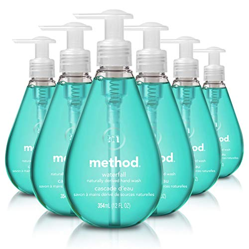 Method Gel Hand Soap, Waterfall, 12 Ounce Pack 6