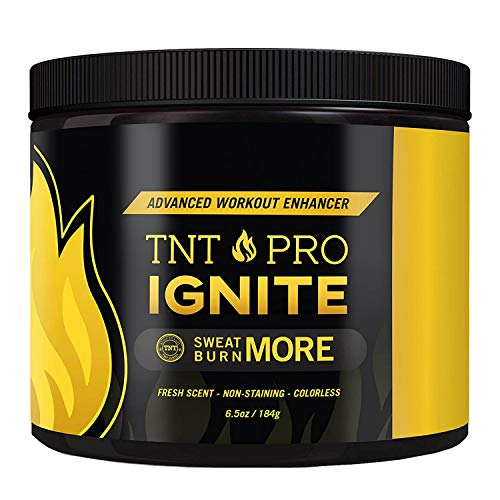Fat Burning Cream for Belly – Thermogenic Weight Loss Workout Slimming Workout Enhancer 6.5 oz Jar – TNT Pro Ignite Sweat Cream for Men and Women