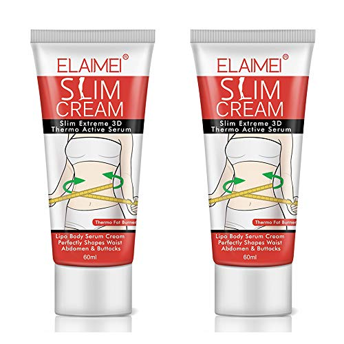 Hot Cream 2 Pack, Slim Cream, Cellulite Removal Firming Cream for Belly, Fat Burner – hermogenic Weight Loss Break Down Fat Tissu, Perfectly Shape Thighs, Legs, Abdomen, Arms and Buttocks