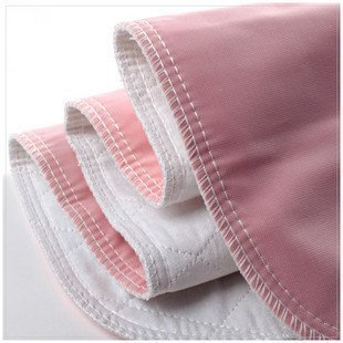 Reusable Washable Bed Pads for Incontinence – Pack of 4 Underpads Made of Soft Cotton Polyester Blend with Leakproof Vintex Backing 34 x 36 Inches Each