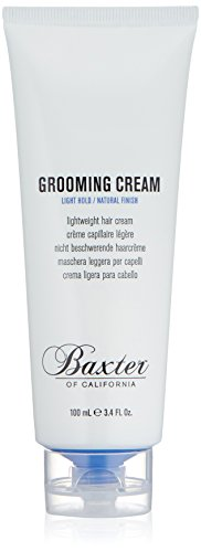 Baxter of California Grooming Cream, Hair Styler for Men, 3.4 oz