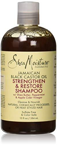 Jamaican Black Castor Oil Strengthen & Restore Shampoo by Shea Moisture for Unisex – 13 oz Shampoo