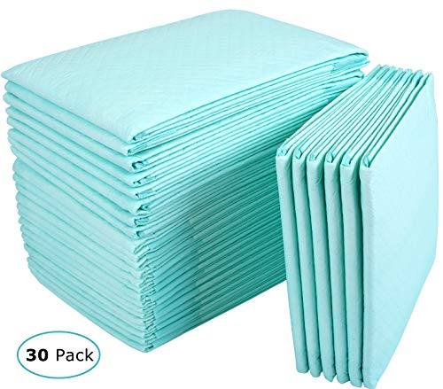 Incontinence Bed Pads Disposable Underpads for Adults, Children and Pets,Absorbency Disposable Bed Pads for Incontinence 36Lx23W,30Pads