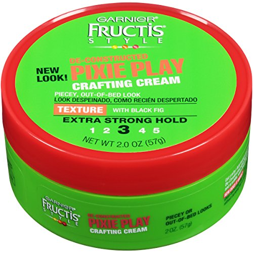 Garnier Fructis Style Pixie Play Crafting Cream, All Hair Types, 2 oz. Packaging May Vary