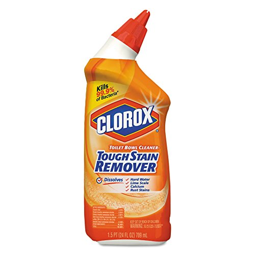 Clorox 00275 Toilet Bowl Cleaner, Tough Stain Remover, 24oz Bottle Case of 12