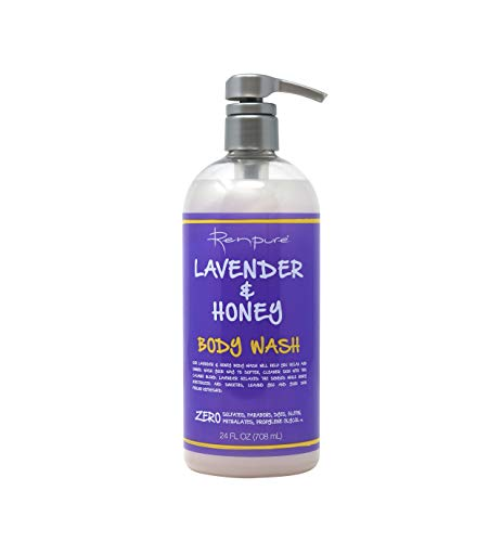 Renpure Lavender & Honey Body Wash 24 Ounce