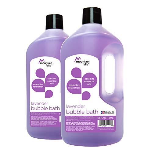 Mountain Falls Bubble Bath, Lavender, 64 fluid ounce Pack of 2