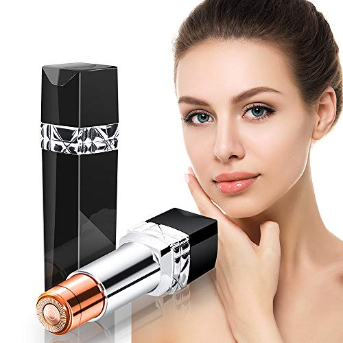 Facial Hair Removal for Women Painless Face Epilator Ladies Razor Waterproof & Portable Hair Trimmer Shaver with Touch Switch for Peach Fuzz, Chin,Cheek, Lips Facial Hair Remover for Women