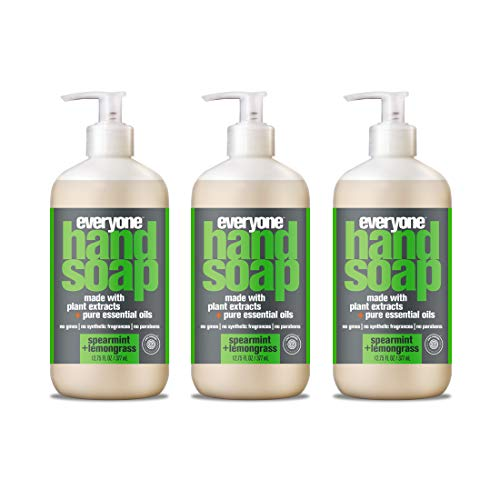 Everyone Hand Soap, Spearmint and Lemongrass, 12.75 Fl Oz Pack of 3