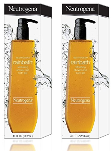 Neutrogena Rainbath Refreshing Shower and Bath Gel, 40 Oz Refill Bottles Pack of 2