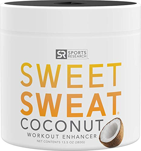 Sweet Sweat Coconut 'Workout Enhancer' Gel – 'XL' Jar 13.5oz