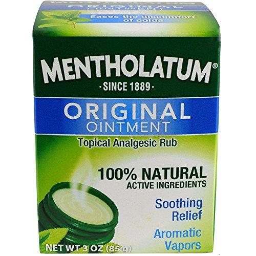 Mentholatum Ointment Jar – 3 Oz Health and Beauty