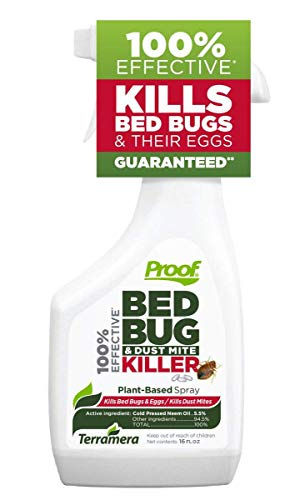Proof Bed Bug & Dust Mite Killer Spray, Large