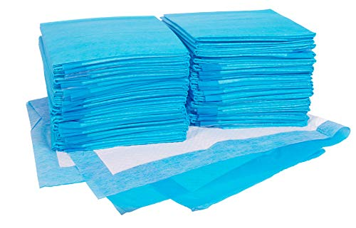 Remedies Disposable Underpads With Ultra Absorbent 85g Fluff Fill 30×36 Inches Pack of 50