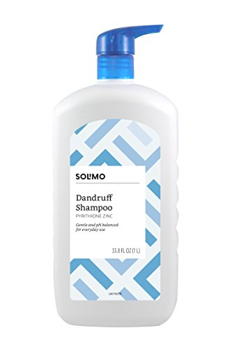 Amazon Brand – Solimo Dandruff Shampoo, Everyday Use, 33.8 Fluid Ounces