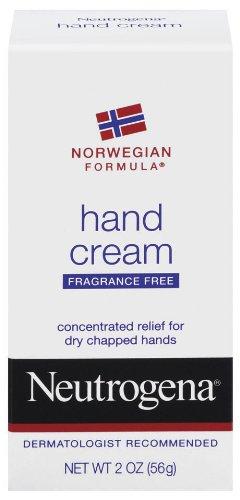 Neutrogena Norwegian Formula Hand Cream, Fragrance-Free, 2 Ounce Pack of 4