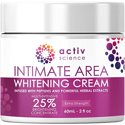 All Skin Types 2fl oz – Skin Lightener Whitening for Sensitive Spots, Private Areas Parts, Underarm Armpit, Dark Spots – ACTIVSCIENCE Whitening Cream for Face, Sensitive & Intimate Areas