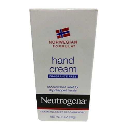 Neutrogena Norwegian Formula Moisturizing Hand Cream Formulated with Glycerin for Dry, Rough Hands, Fragrance-Free Intensive Hand Cream, 2 oz Pack of 3